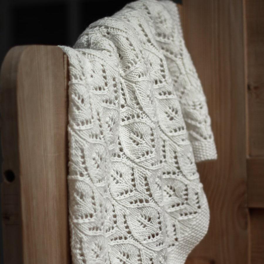 strik opskrifter babytæppe